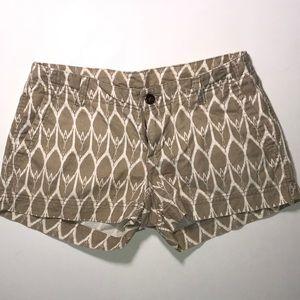 The North Face Khaki Shorts Size 0